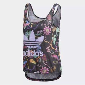 Adidas Women's Poisonous Garden Tank Multicolor